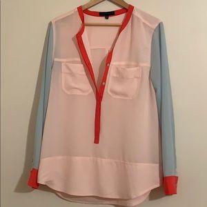 Womens long sleeve dress shirt XL